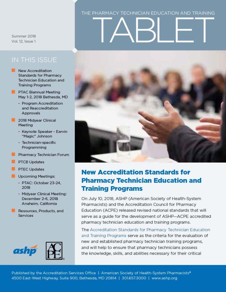 ASHP Tech Tablet Newsletter