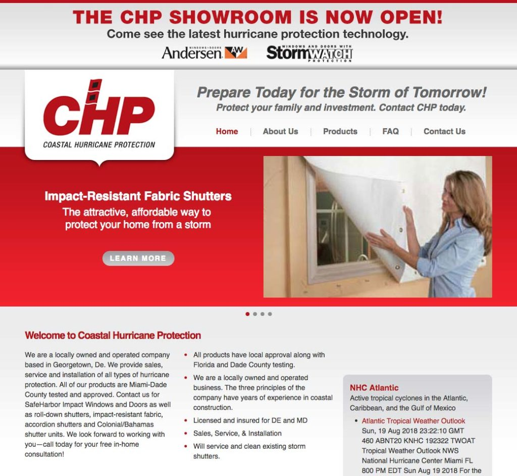 CHP Website